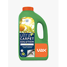 Buy Vax Ultra+ Pet Carpet Cleaning Solution, 1.5L Online at johnlewis.com