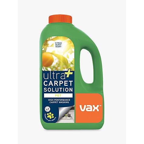 buy vax ultra pet carpet cleaning solution 1 5l john lewis. Black Bedroom Furniture Sets. Home Design Ideas