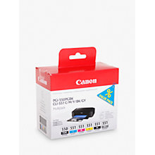 Buy Canon PGI-550/CLI-551 Ink Cartridge Multipack Online at johnlewis.com
