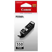 Buy Canon PGI-550 Black Ink Cartridge Online at johnlewis.com