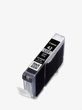 Buy Canon CLI-42LGY Ink Cartridge, Light Grey Online at johnlewis.com