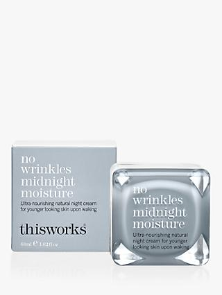 This Works No Wrinkles Midnight Moisture, 48ml
