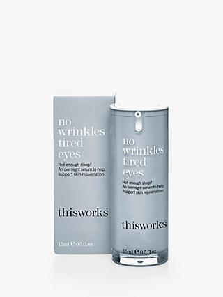 This Works No Wrinkles Tired Eyes, 15ml