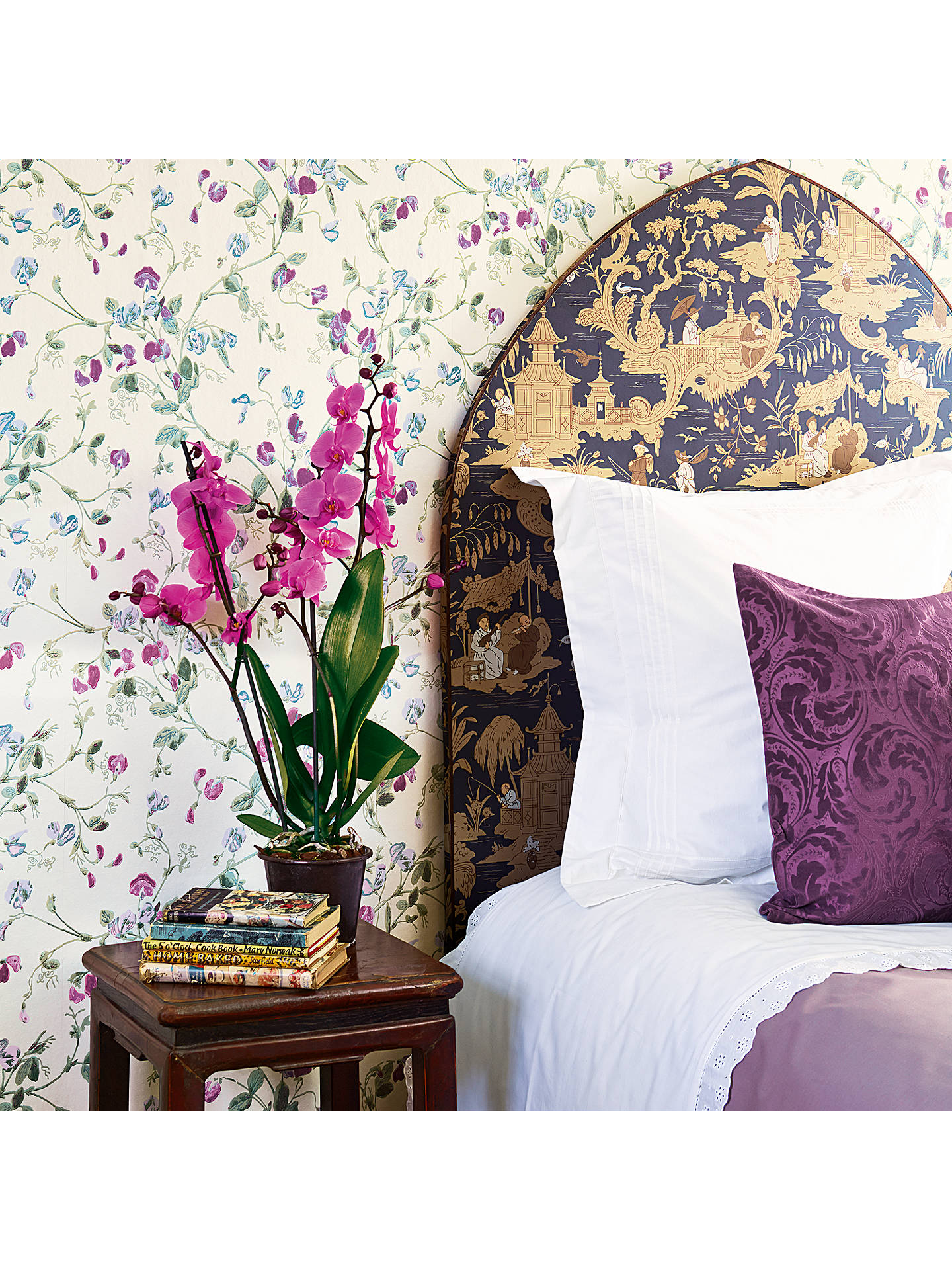 Buy Cole & Son Sweet Pea Wallpaper, 100/6030 Online at johnlewis.com