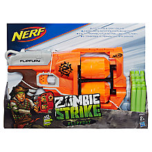 Buy NERF Zombie Strike FlipFury Blaster Online at johnlewis.com