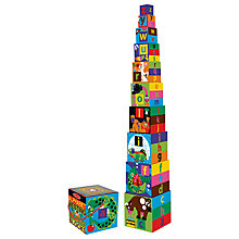 Buy Melissa & Doug Alphabet Nesting and Stacking Blocks Online at johnlewis.com
