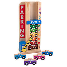 Buy Melissa & Doug Wooden Stack & Count Parking Garage Online at johnlewis.com