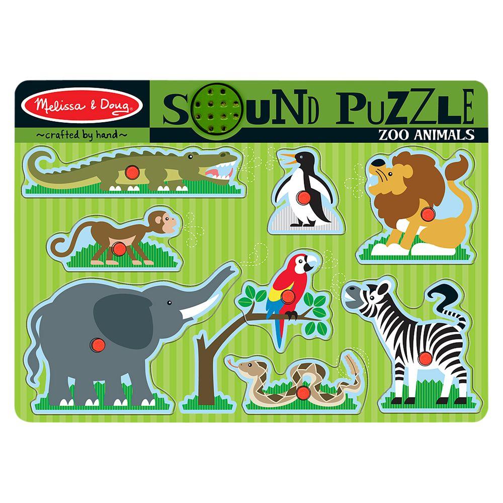 Melissa & Doug Melissa & Doug Zoo Animals Sound Puzzle
