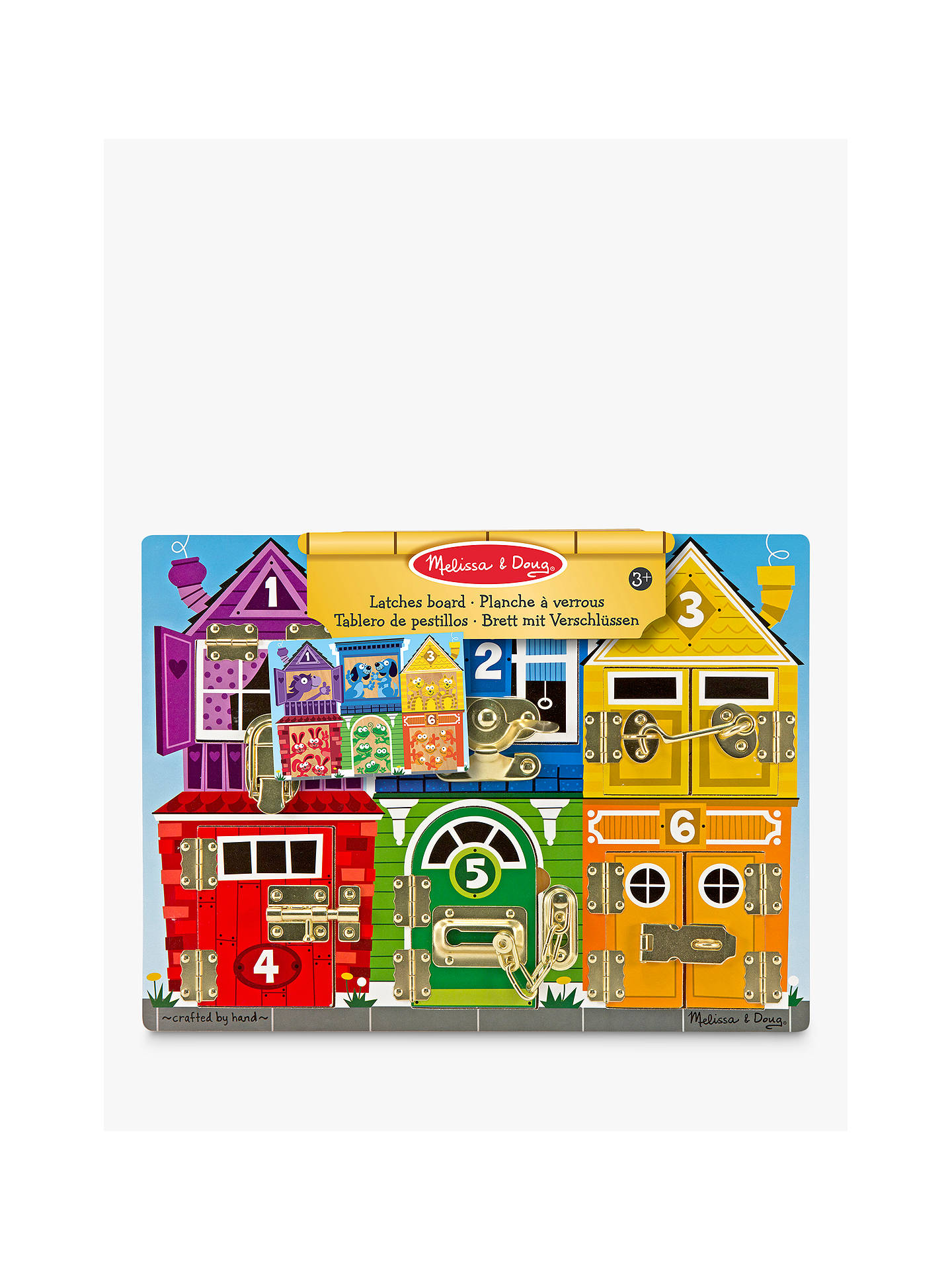 Buy Melissa & Doug Latches Board Online at johnlewis.com