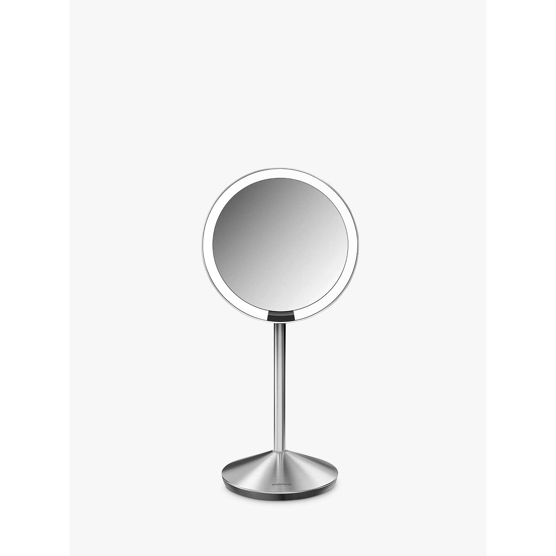 Simplehuman Mini Sensor Travel Magnifying Pedestal Mirror