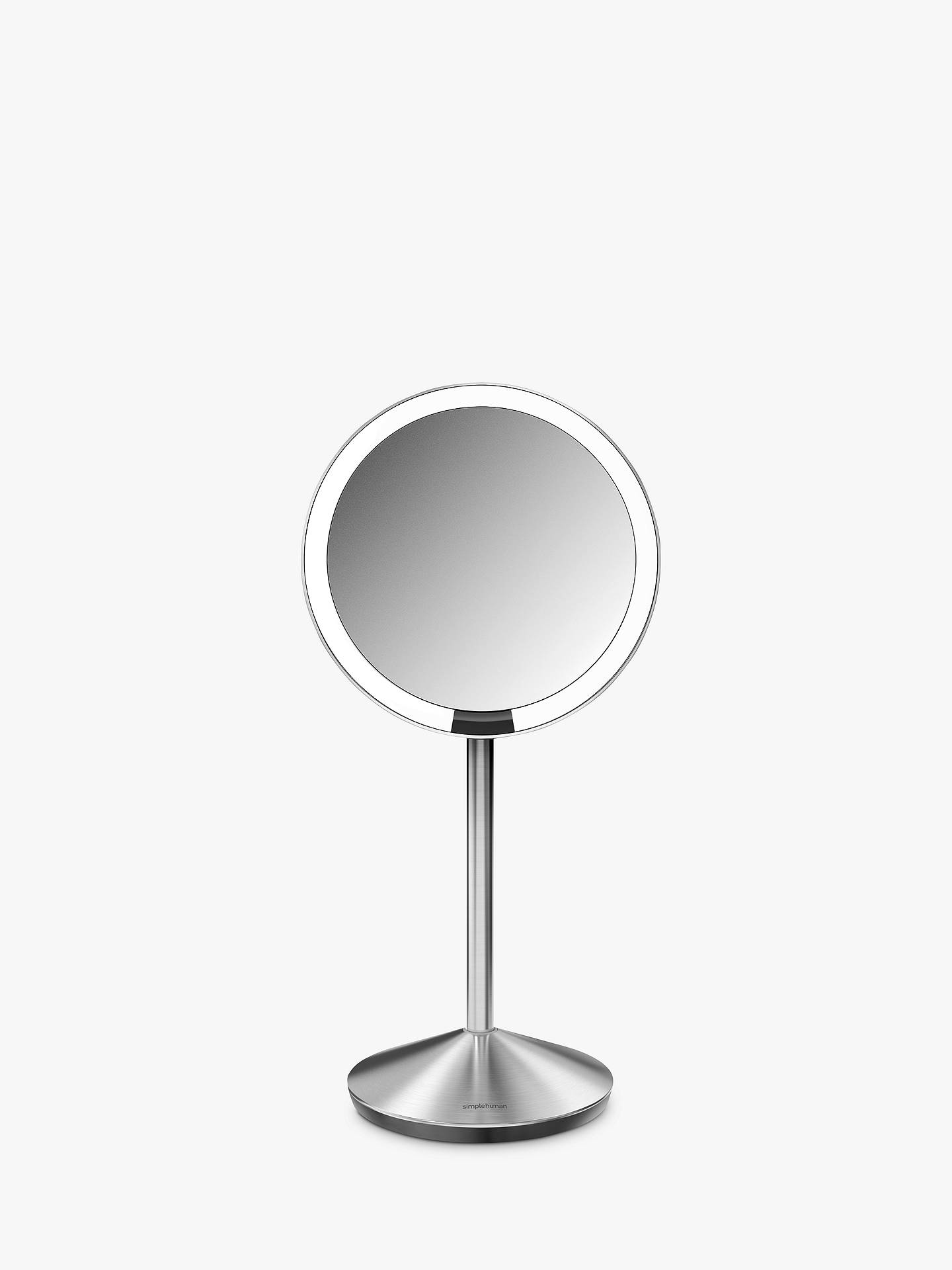 Simplehuman Mini Sensor Travel Magnifying Pedestal Mirror