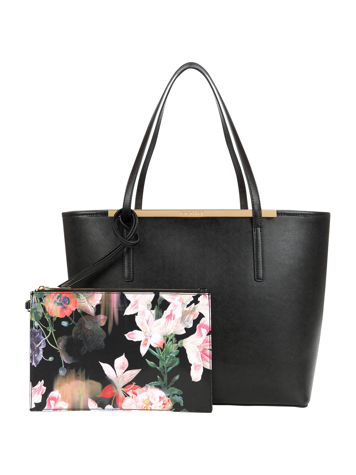 4a3988597ddb7 BuyTed Baker Tulip Large Crosshatch Shopper Bag
