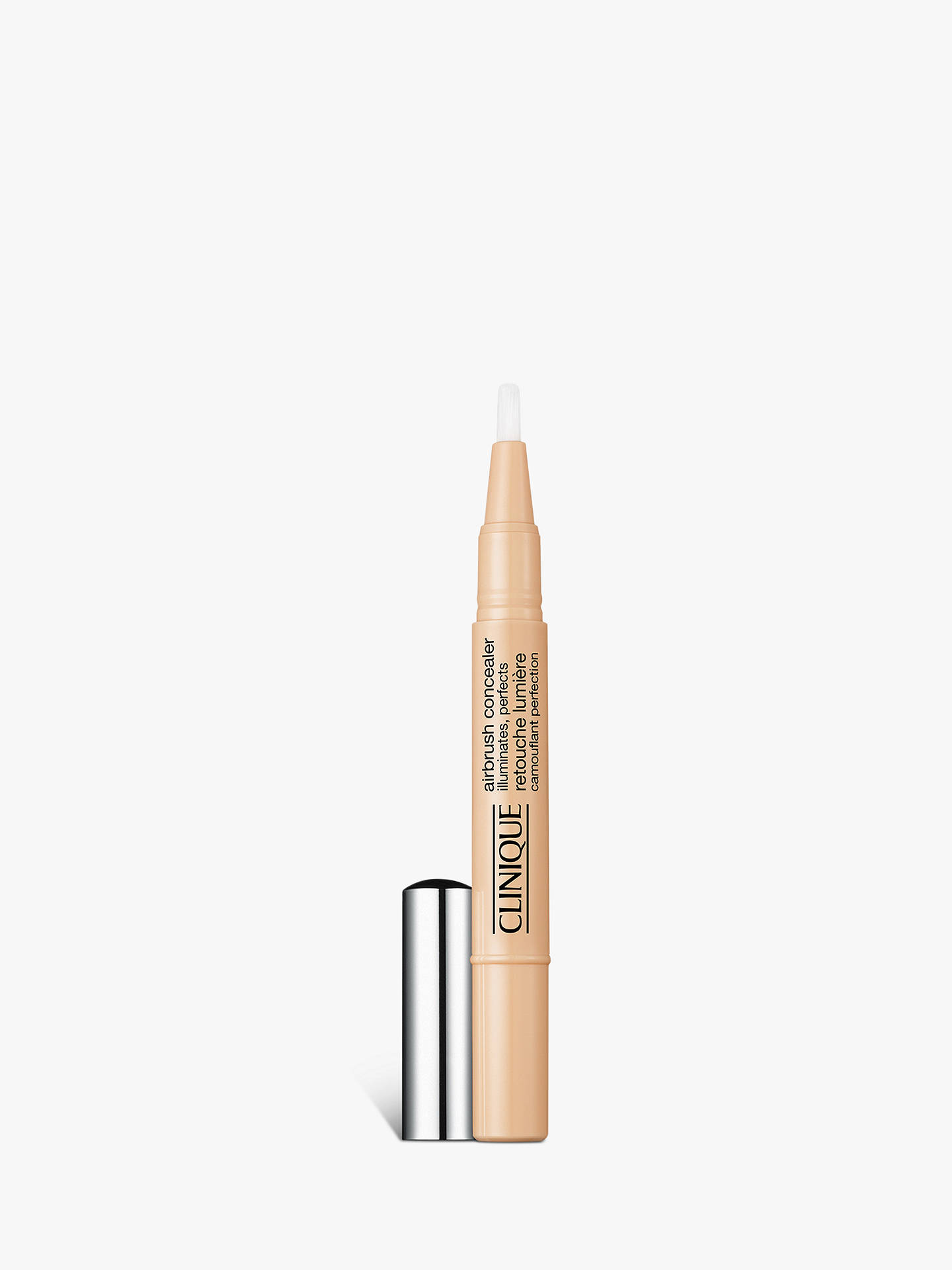 BuyClinique Airbrush Concealer - All Skin Types, 1.5ml, Fair Cream Online at johnlewis.com