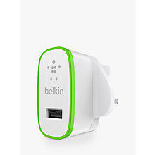 Buy Belkin BOOST UP Home Charger for Apple Lightning Devices Online at johnlewis.com
