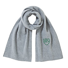 Buy Buckholme Towers School Scarf, Grey Online at johnlewis.com