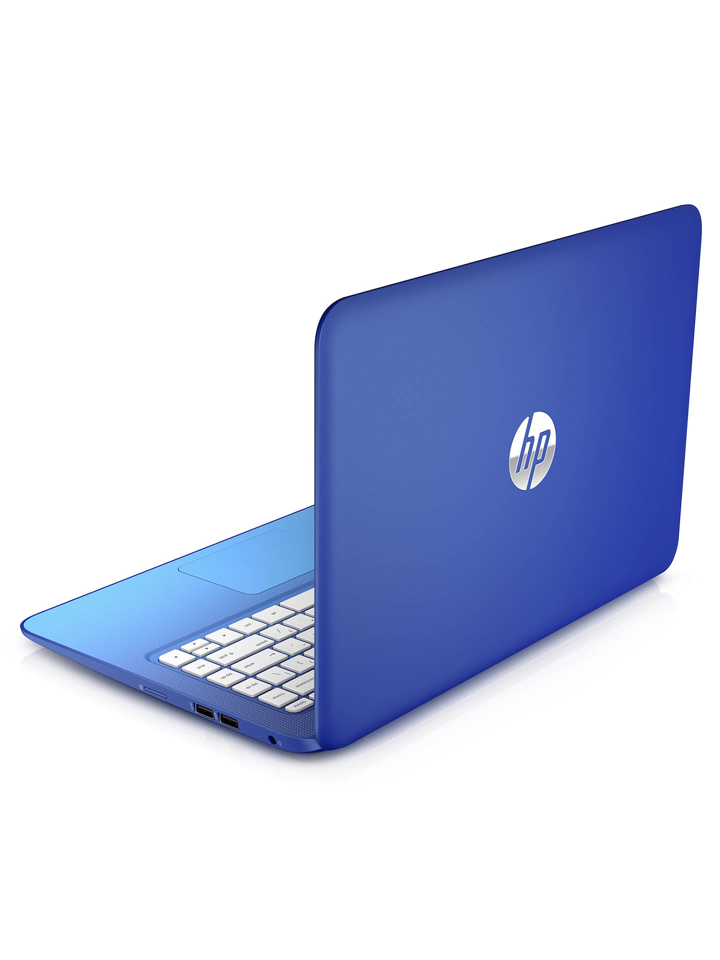 "Buy HP Stream 13 Laptop, Intel Celeron, 2GB RAM, 32GB Flash Storage, Windows 8.1 & Office 365, 13.3"" Touch Screen, Blue Online at johnlewis.com"