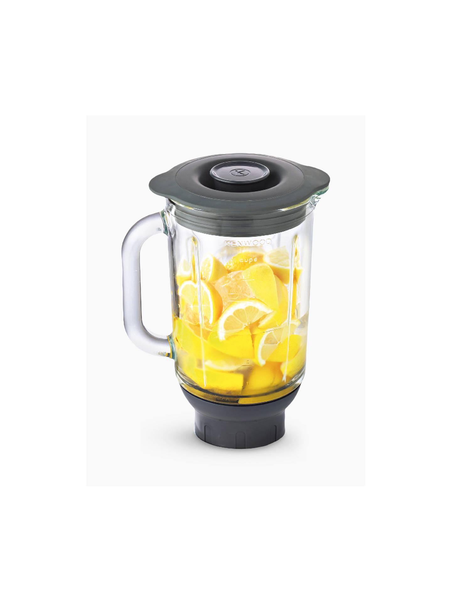 Buy Kenwood KAH358GL Glass Thermoresist Blender Attachment Online at johnlewis.com