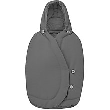Buy Maxi-Cosi Pebble Baby Car Seat Footmuff, Concrete Grey Online at johnlewis.com