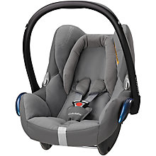 Buy Maxi-Cosi Concrete Grey Cabriofix Car Seat and Easy Fix Base bundle Online at johnlewis.com