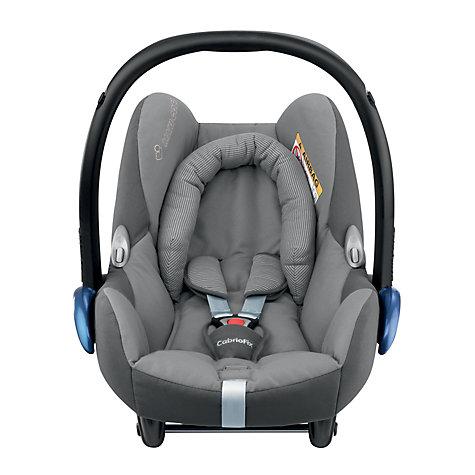 buy maxi cosi cabriofix group 0 baby car seat concrete grey john lewis. Black Bedroom Furniture Sets. Home Design Ideas