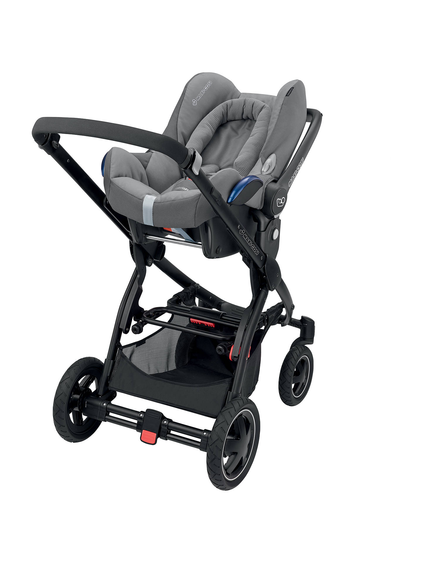 how to put baby in maxi cosi cabriofix