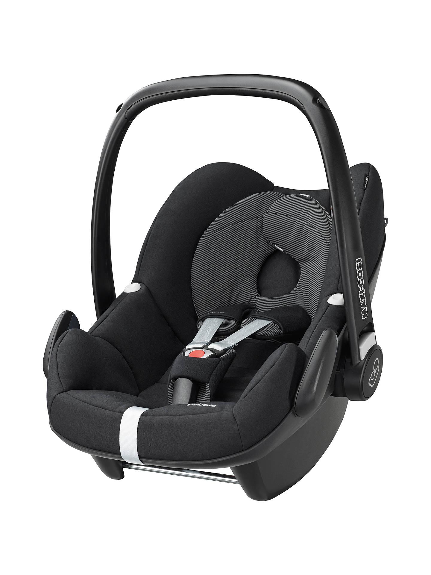 BuyMaxi Cosi Pebble Group 0 Baby Car Seat Black Raven Online At Johnlewis