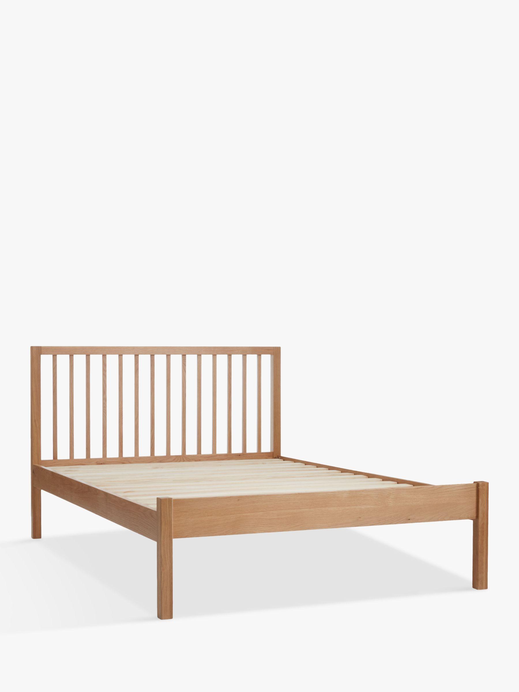 Buy John Lewis Morgan Bed Frame Double Oak John Lewis