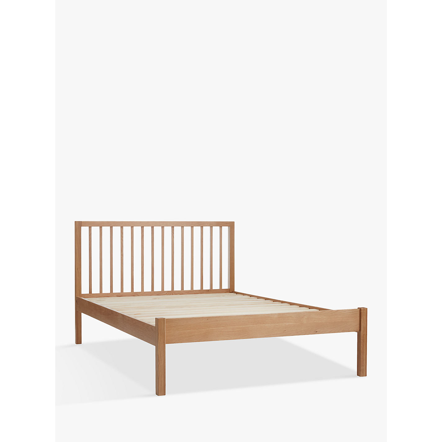 Bed Pictures buy john lewis morgan bed frame, double, oak | john lewis