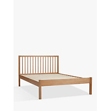 Buy John Lewis Morgan Bed Frame, Double, Oak Online at johnlewis.com