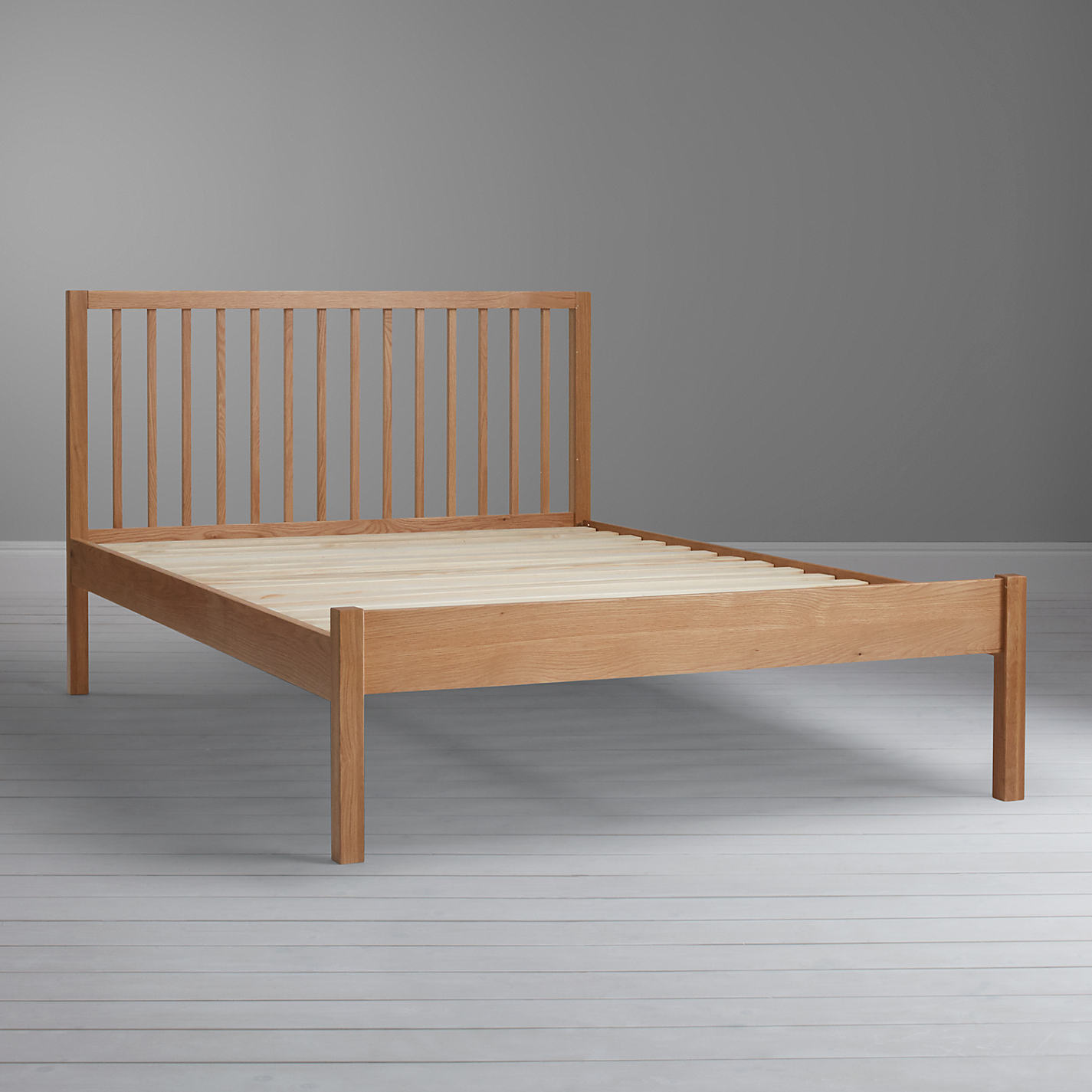 Bedroom Furniture John Lewis buy john lewis morgan bed frame, double, oak | john lewis