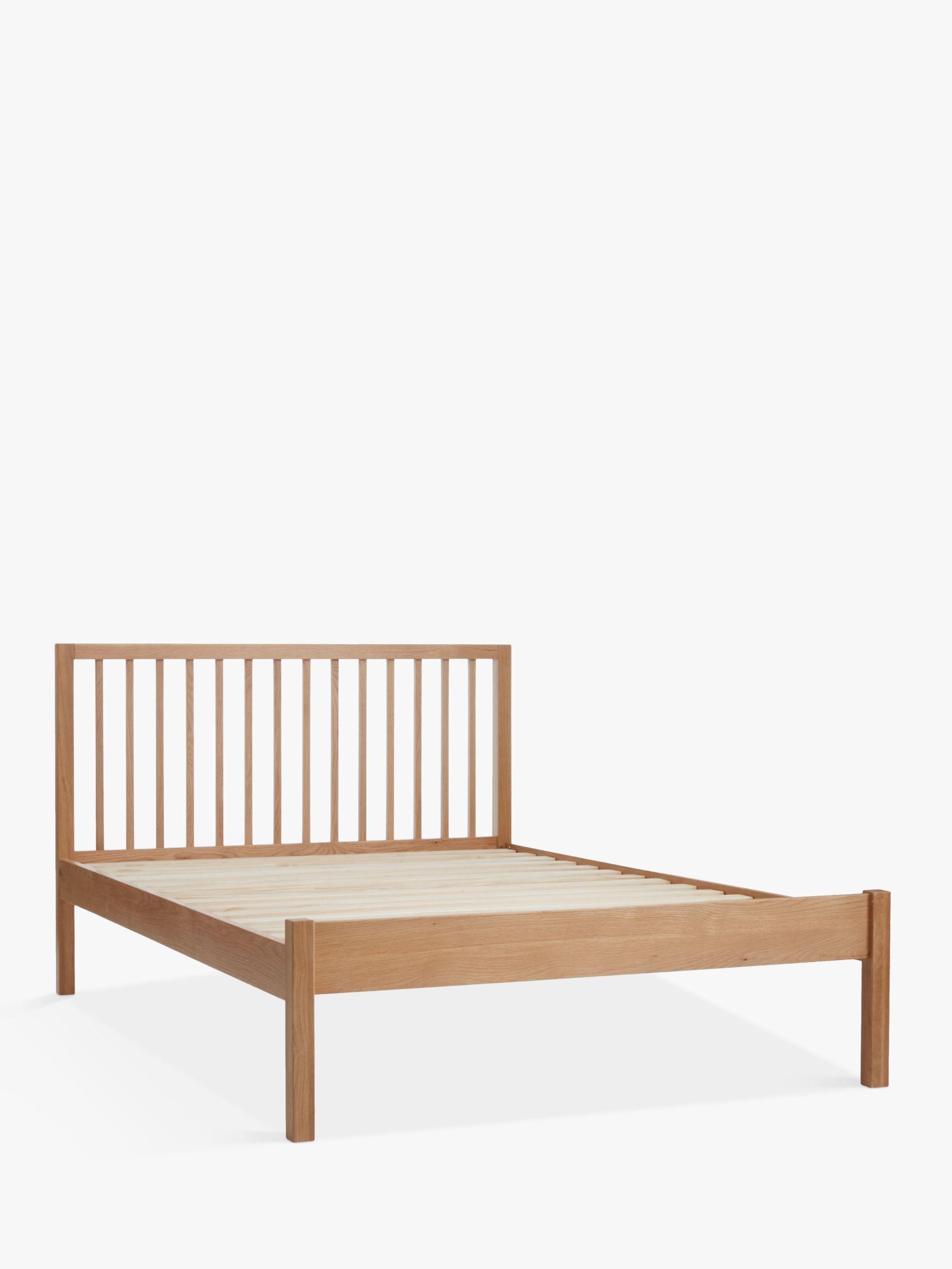 Buy John Lewis Morgan Bed Frame King Size Oak John Lewis
