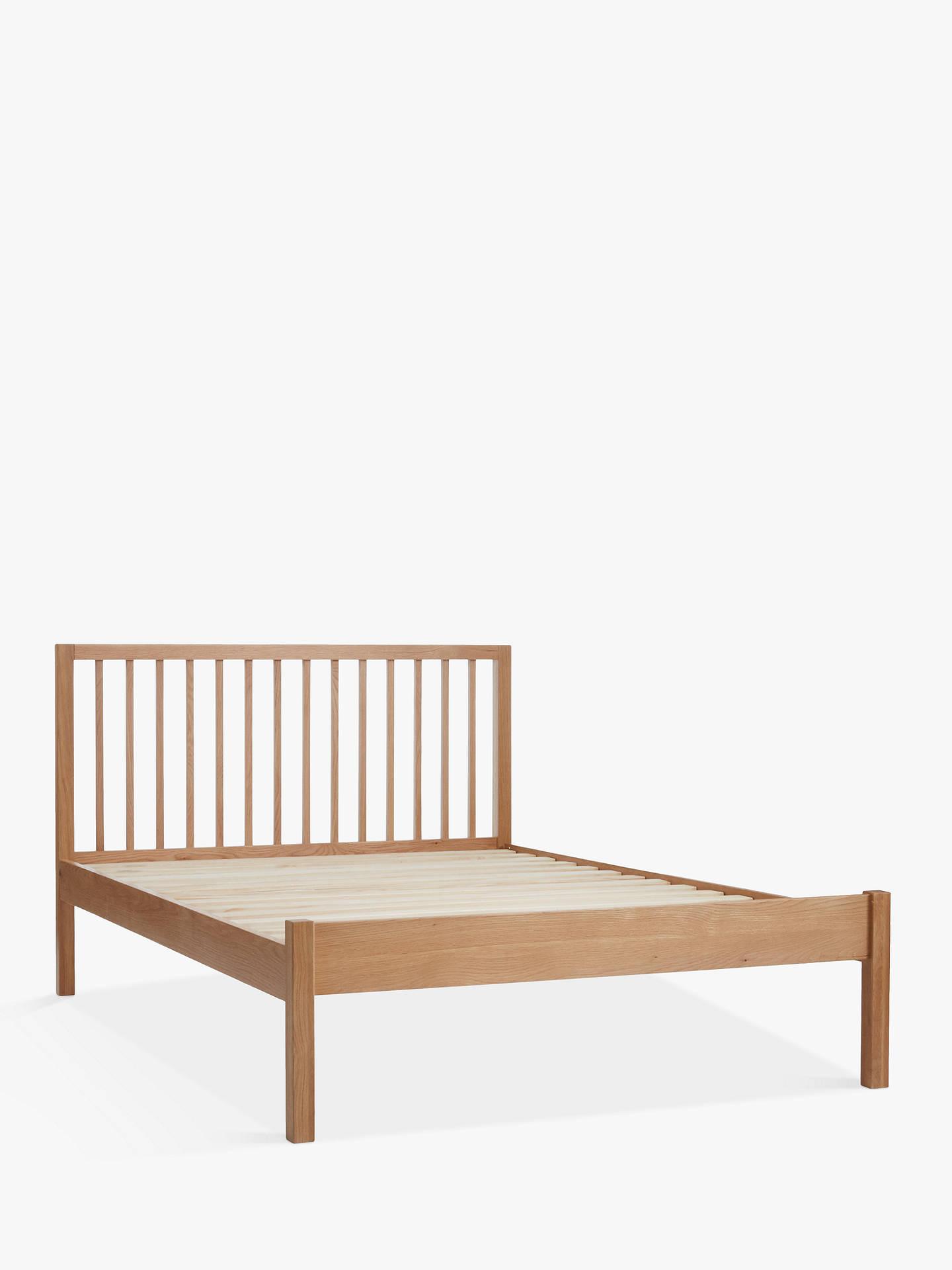 Buyjohn lewis partners morgan bed frame king size oak online at johnlewis