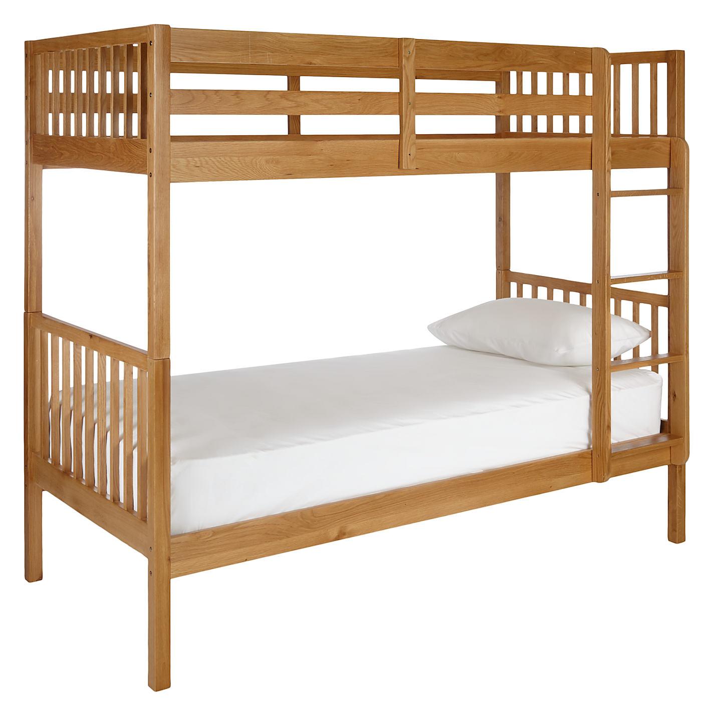 Buy John Lewis Morgan Story Time Bunk Bed Oak Online At Johnlewis