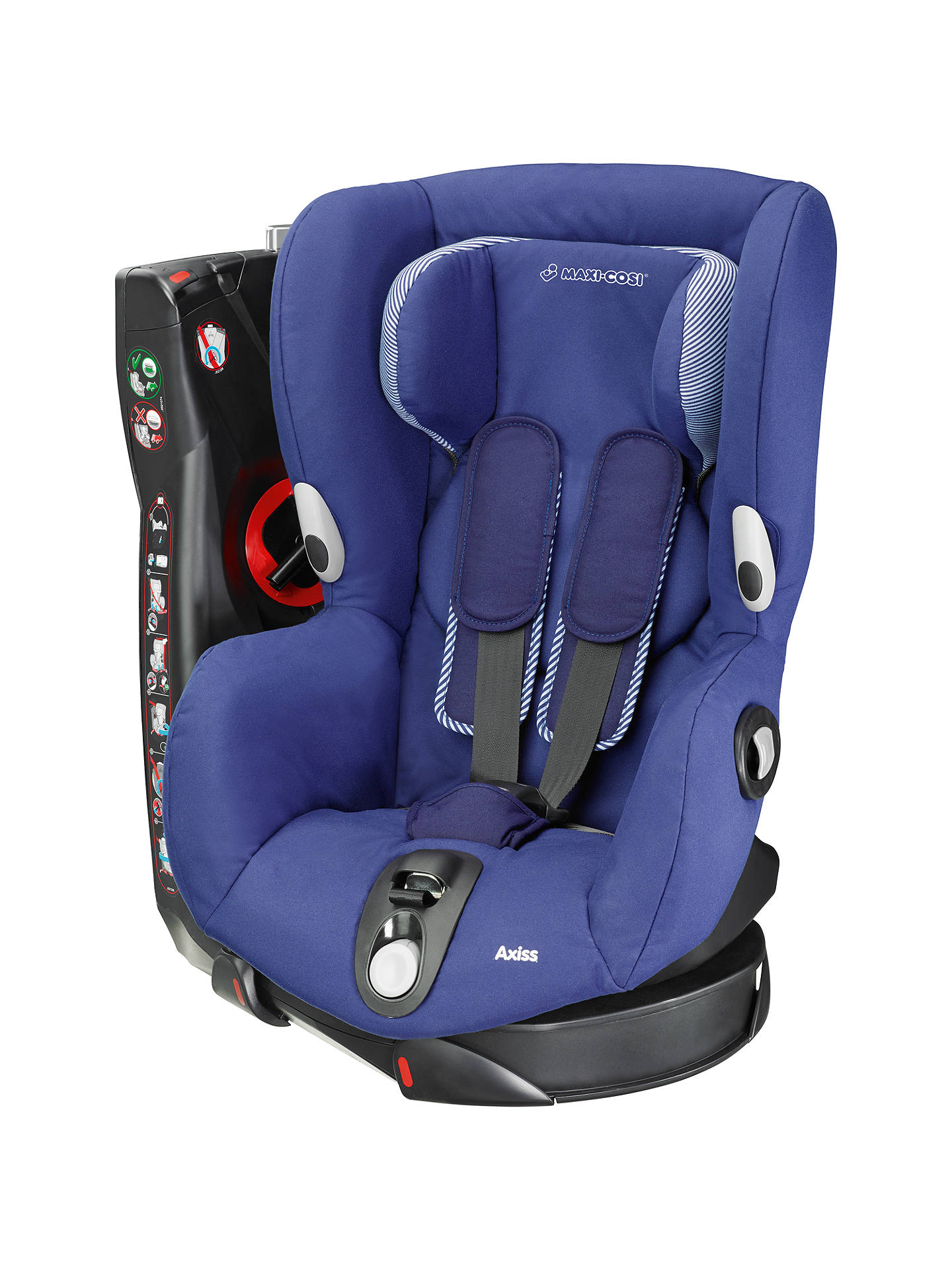 maxi cosi axiss group 1 car seat river blue at john lewis partners. Black Bedroom Furniture Sets. Home Design Ideas
