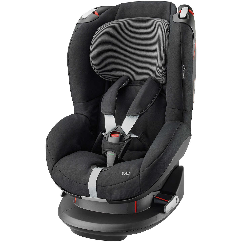 Maxi-Cosi Tobi Group 1 Car Seat, Black Raven at John Lewis