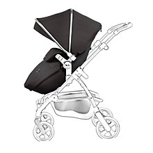 Buy Silver Cross Wayfarer and Pioneer Apron and Hood Pack, Black/Graphite Online at johnlewis.com