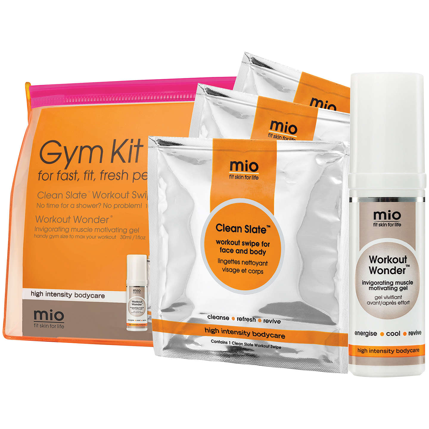BuyMio Gym Kit Bodycare Gift Set Online at johnlewis.com