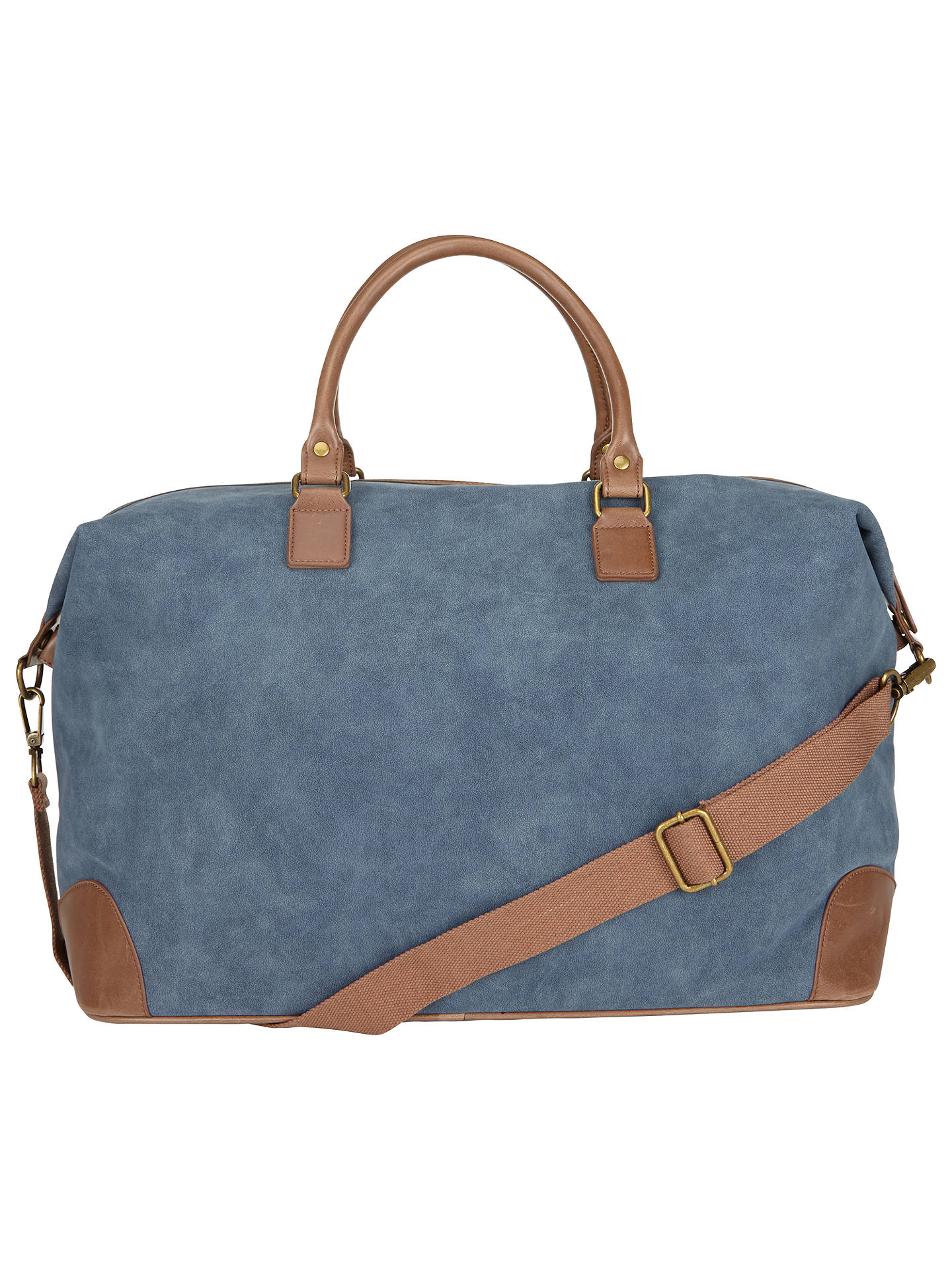 BuyJohn Lewis & Partners Geneva Large Weekend Holdall, Blue Online at johnlewis.com