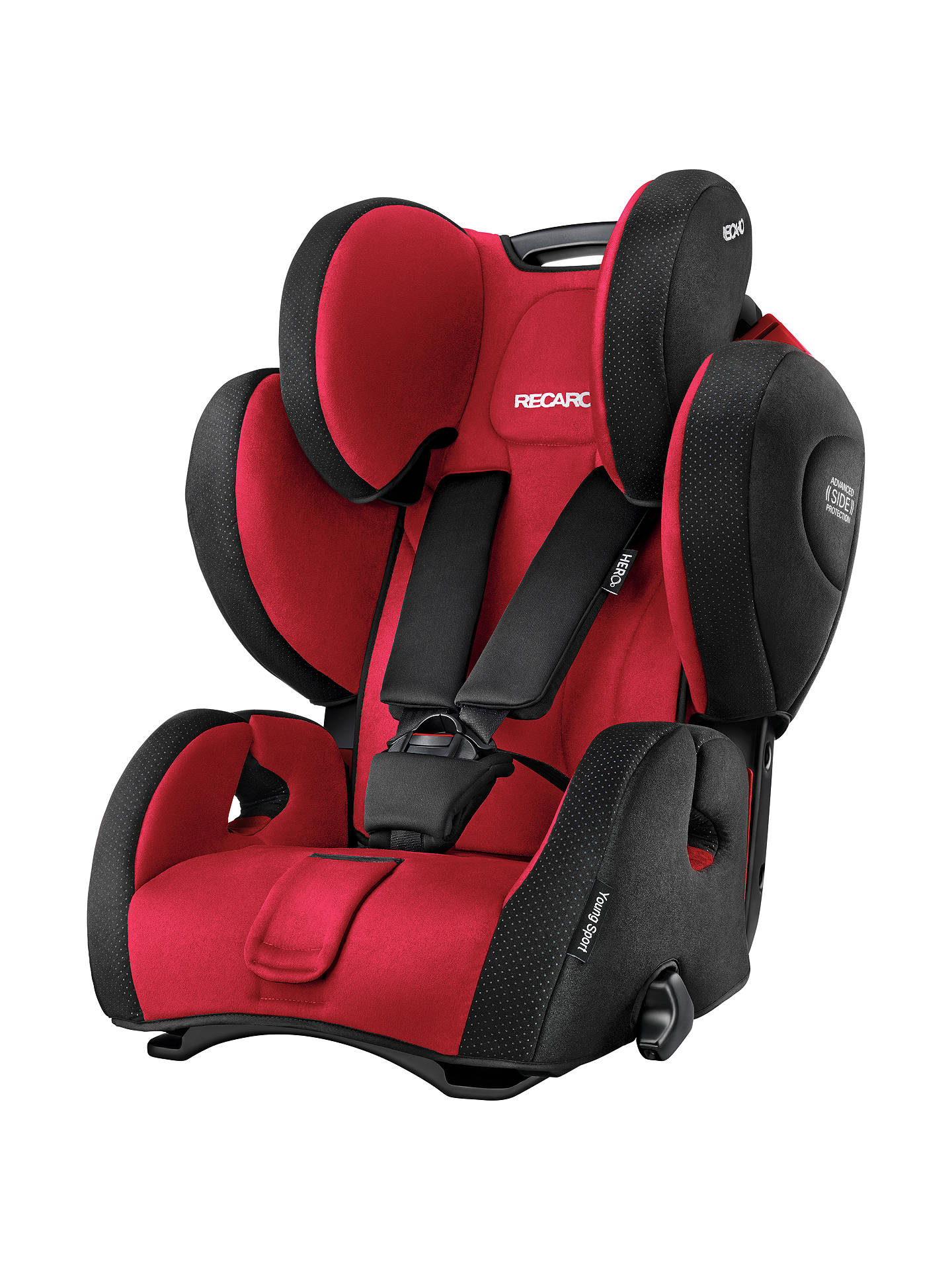 recaro young sport hero group 1 2 3 car seat ruby at john. Black Bedroom Furniture Sets. Home Design Ideas
