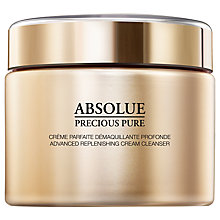 Buy Lancôme Absolue Precious Pure Advanced Replenishing Cream Cleanser, 200ml Online at johnlewis.com