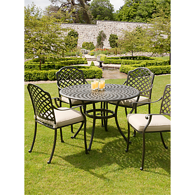 Suntime Buckingham Aluminium 4-Seater Dining Set