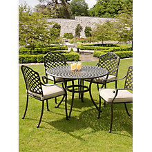 Buy Suntime Buckingham Aluminium 4-Seater Dining Set Online at johnlewis.com