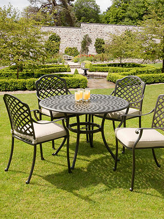 Buy Suntime Buckingham 4-Seater Garden Dining Table and Chairs Set Online at johnlewis.com