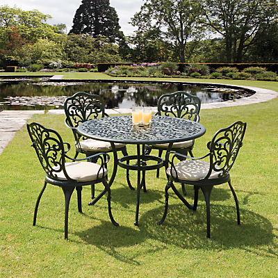 suntime sussex aluminium 4 seater dining set - Garden Furniture 4 Seater Sets