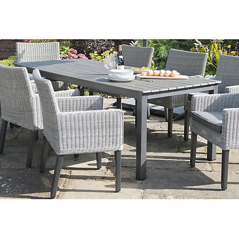 Buy KETTLER Bretagne 8 Seater Outdoor Dining Table Online at  johnlewis com  Buy KETTLER Bretagne 8 Seater Outdoor Dining Table   John Lewis. Kettler Bretagne 8 Seater Outdoor Dining Table. Home Design Ideas