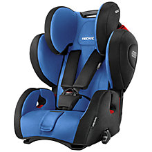 Buy Recaro Young Sport Hero Group 1/2/3 Car Seat, Saphir Online at johnlewis.com