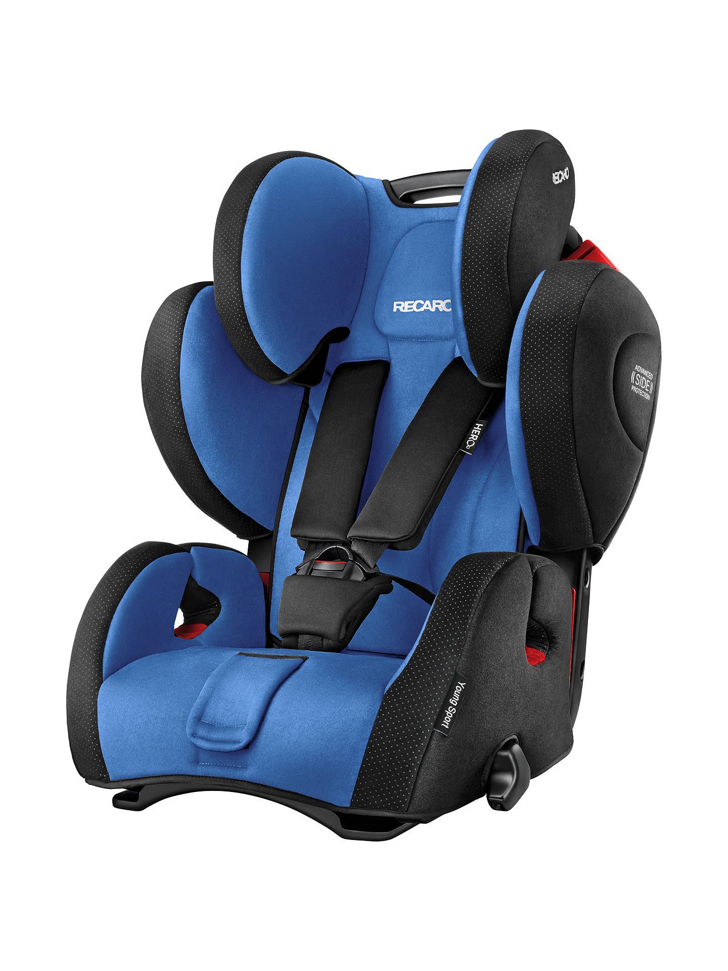 recaro young sport hero group 1 2 3 car seat saphir at. Black Bedroom Furniture Sets. Home Design Ideas