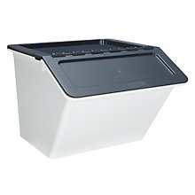 Buy John Lewis Plastic Stackable Storage / Recycling Box, Large Online at johnlewis.com