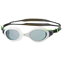 Buy Speedo Futura Biofuse Polar Swimming Goggles, White/Green Online at johnlewis.com