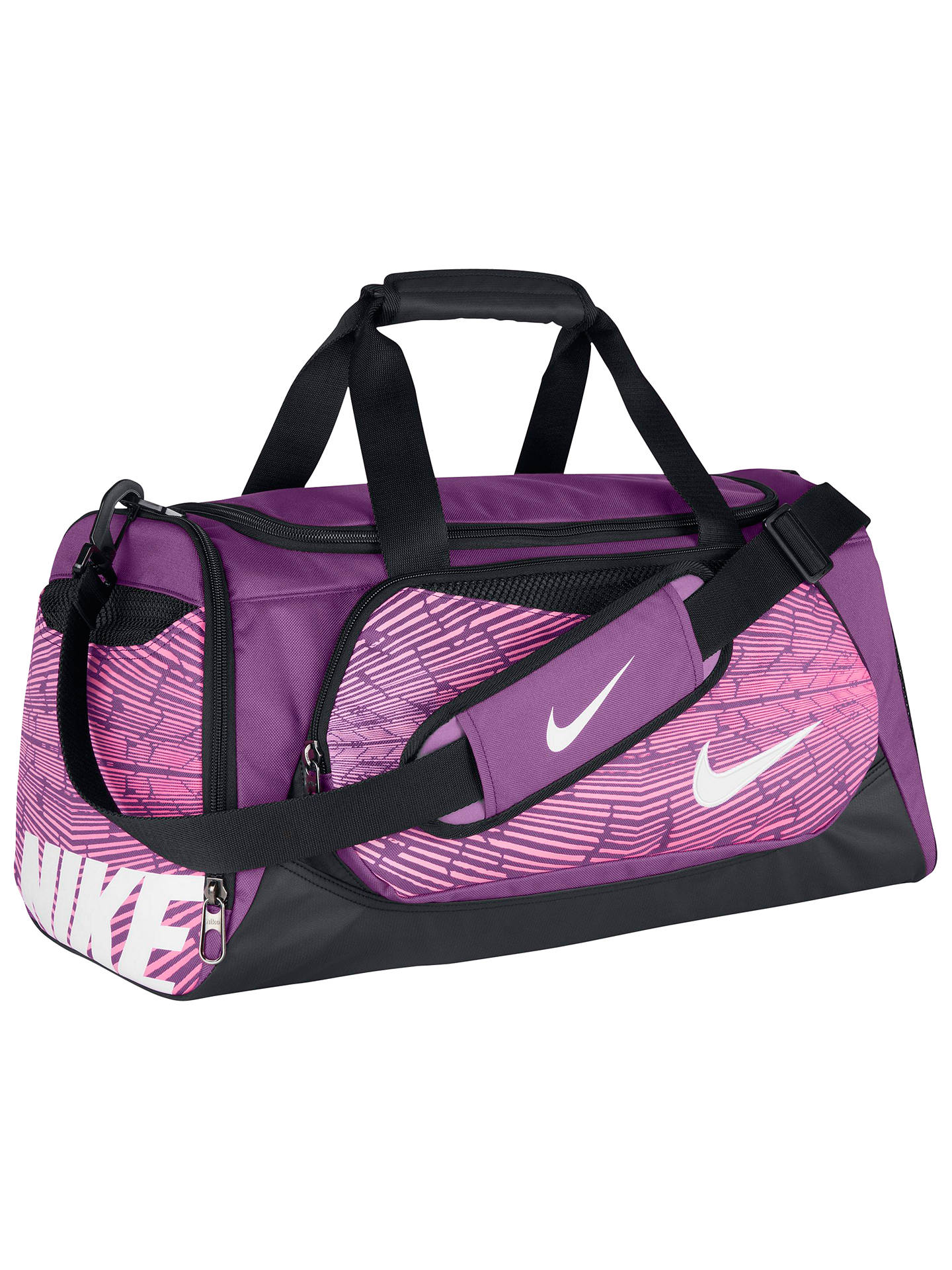 Nike Ya Tt Small Kids Duffel Bag Purple At John Lewis